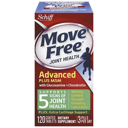 Schiff, Move Free Joint Health, Glucosamine Chondroitin Plus MSM, 120 Coated Tablets Review
