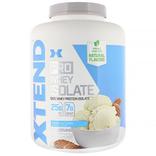 Scivation, Xtend Pro, Whey Isolate, Vanilla Ice Cream, 5 lb (2.27 kg) Review