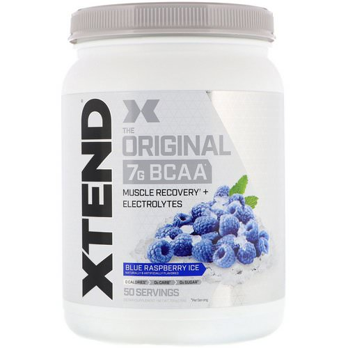 Scivation, Xtend, The Original 7g BCAA, Blue Raspberry Ice, 1.5 lb (700 g) Review