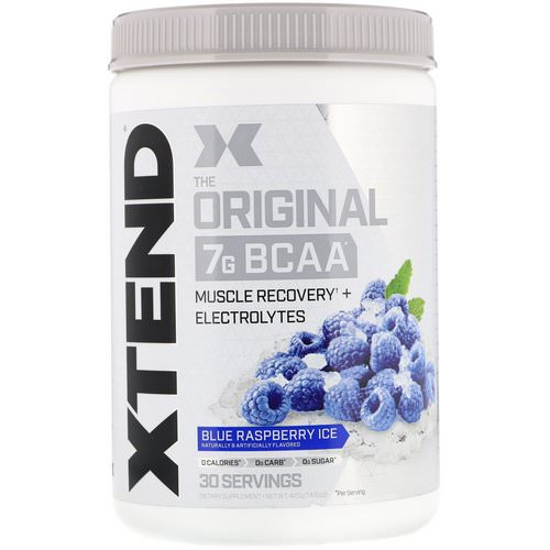 Scivation, Xtend, The Original 7G BCAA, Blue Raspberry Ice, 14.8 oz (420 g) Review