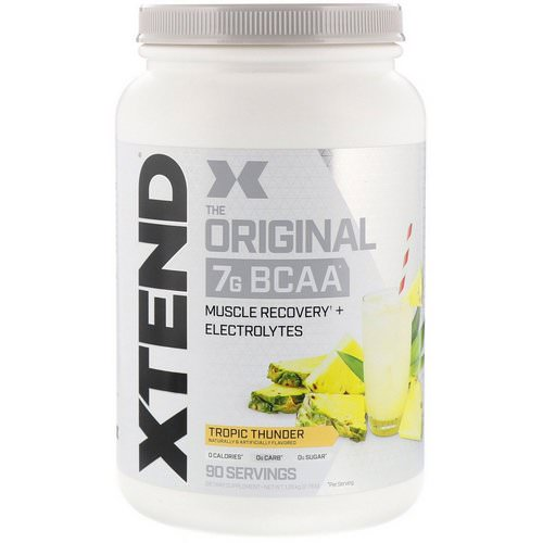 Scivation, Xtend, The Original, Tropic Thunder, 2.78 lb (1.26 kg) Review