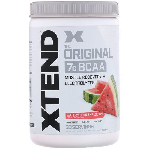 Scivation, Xtend, The Original, Watermelon Explosion, 13.7 oz (390 g) Review