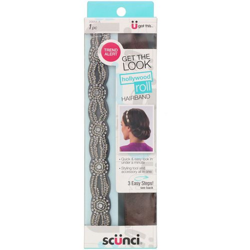 Scunci, Hollywood Roll Hairband, 1 Piece Review