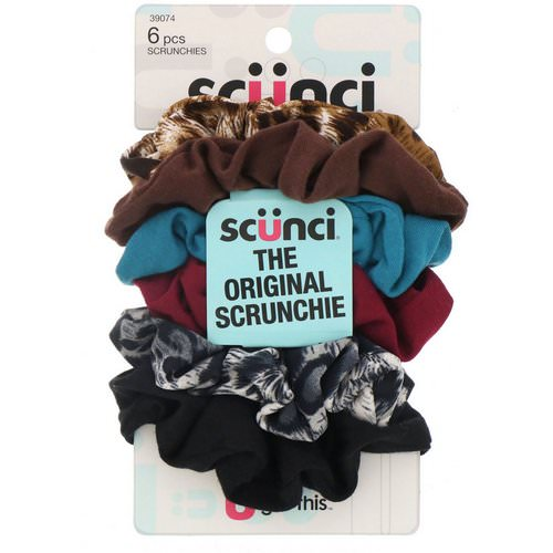 Scunci, The Original Scrunchie, 6 Pieces Review