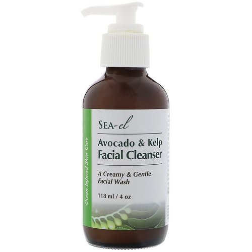 Sea el, Avocado & Kelp Facial Cleanser, 4 oz (118 ml) Review