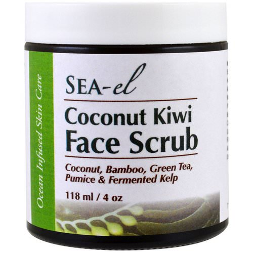 Sea el, Coconut Kiwi Face Scrub, 4 oz (118 ml) Review