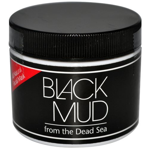 Sea Minerals, Black Mud, All Natural Facial Mask, 3 oz Review