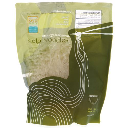 Sea Tangle Noodle Company, Kelp Noodles, 12 oz (340 g) Review