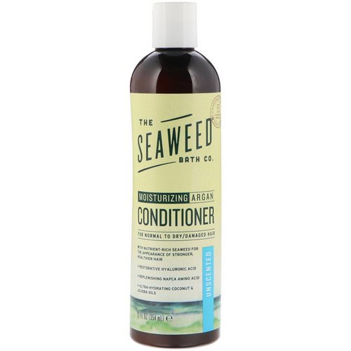 The Seaweed Bath Co, Moisturizing Argan Conditioner, Unscented, 12 fl oz (354 ml) Review