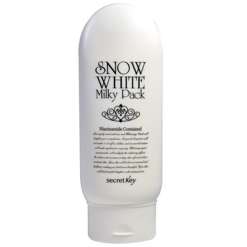 Secret Key, Snow White Milky Pack, Whitening Cream, 200 g Review