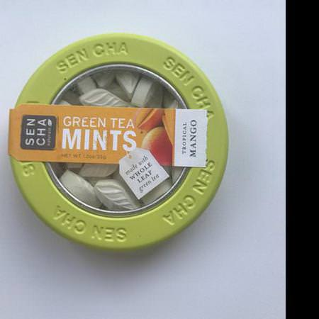 Green Tea Mints, Tropical Mango