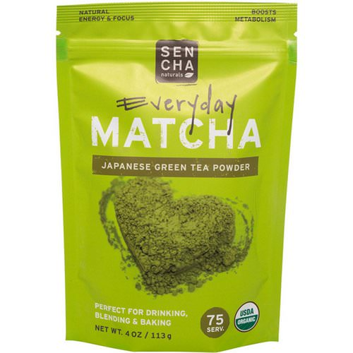 Sencha Naturals, Matcha, Green Tea Powder, Japanese Everyday Grade, 4 oz (113 g) Review