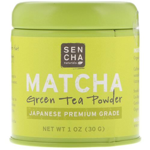 Sencha Naturals, Matcha, Green Tea Powder, Japanese Premium Grade, 1 oz (30 g) Review