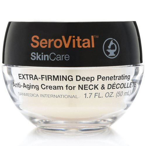 SeroVital, Anti-Aging Cream for Neck & Decollete, Extra Firming, 1.7 fl oz (50 ml) Review