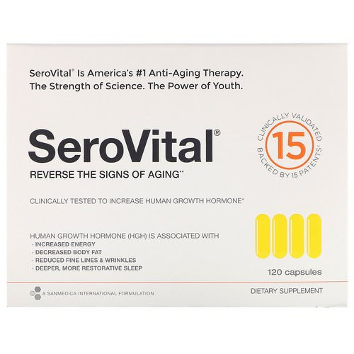 SeroVital, Anti-Aging Therapy, 120 Capsules Review