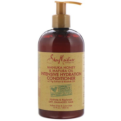 SheaMoisture, Manuka Honey & Mafura Oil, Intensive Hydration Conditioner, 13 fl oz (384 ml) Review