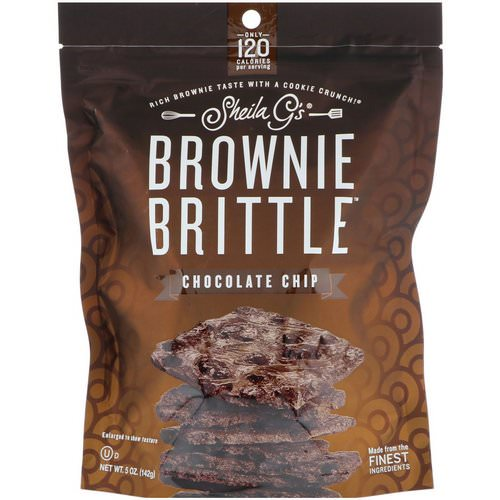 Sheila G's, Brownie Brittle, Chocolate Chip, 5 oz (142 g) Review