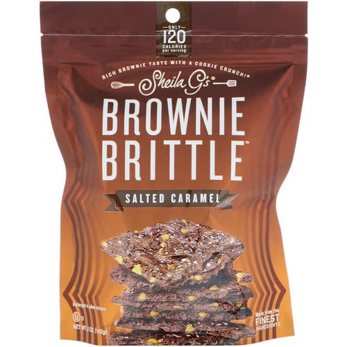 Sheila G's, Brownie Brittle, Salted Caramel, 5 oz (142 g) Review