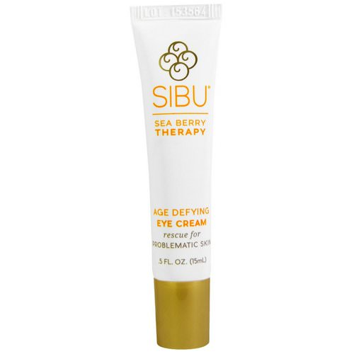 Sibu Beauty, Sea Berry Therapy, Age Defying Eye Cream, Sea Buckthorn Oil, T7, 0.5 fl oz (15 ml) Review