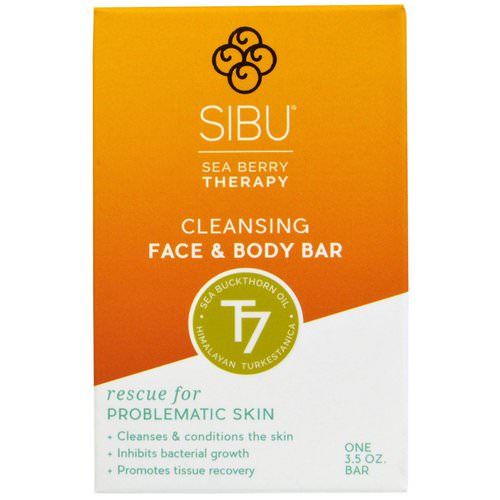 Sibu Beauty, Sea Berry Therapy, Cleansing Face and Body Bar, Sea Buckthorn Oil, T7, 3.5 oz Review