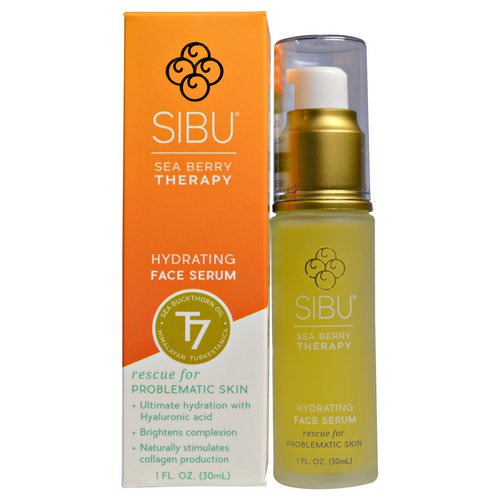 Sibu Beauty, Sea Buckthorn Oil Hydrating Serum, 1 fl oz (30 ml) Review