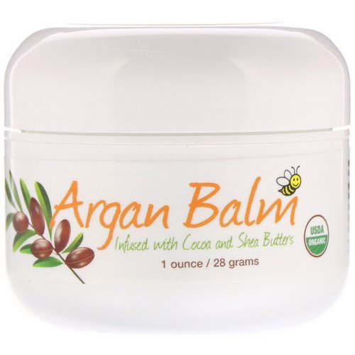 Sierra Bees, Argan Balm With Cocoa & Shea Butter, 1 oz (28 g) Review