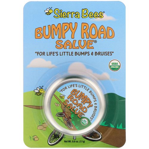 Sierra Bees, Bumpy Road Salve, .6 oz (17 g) Review