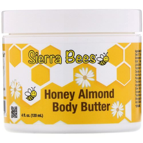 Sierra Bees, Honey Almond Body Butter, 4 fl oz (120 ml) Review