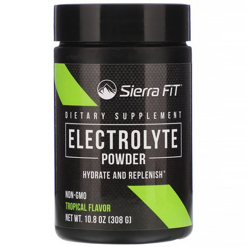 Sierra Fit, Electrolyte Powder, 0 Calories, Tropical, 10.8 oz (308 g) Review