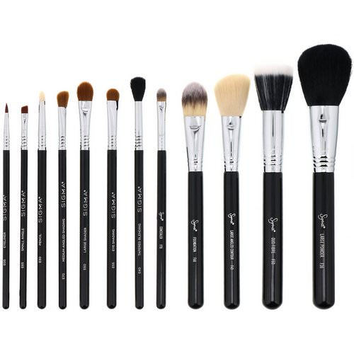 Sigma, Essential Brush Kit, 12 Piece Kit Review