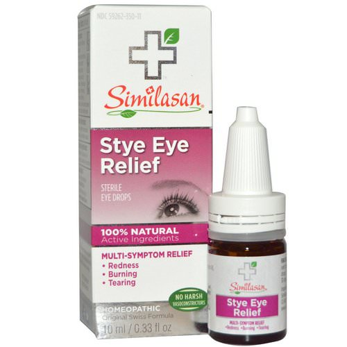 Similasan, Stye Eye Relief, Sterile Eye Drops, 0.33 fl oz (10 ml) Review