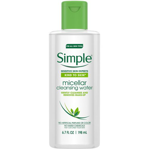 Simple Skincare, Micellar Cleansing Water, 6.7 fl oz (198 ml) Review