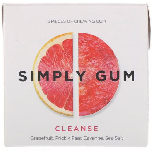 Simply Gum, Cleanse Gum, 15 Pieces Review