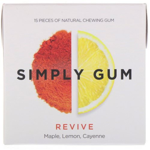 Simply Gum, Revive Gum, 15 Pieces Review