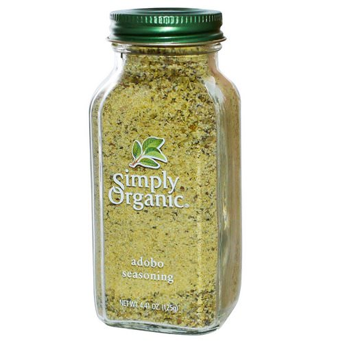 Simply Organic, Adobo Seasoning, 4.41 oz (125 g) Review