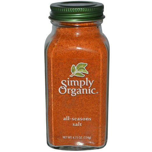 Simply Organic, All-Seasons Salt, 4.73 oz (134 g) Review