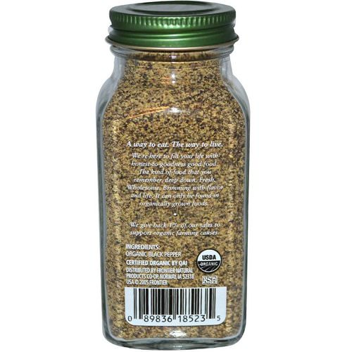 Simply Organic, Black Pepper, 2.31 oz (65 g) Review