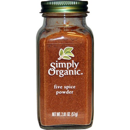Simply Organic, Five Spice Powder, 2.01 oz (57 g) Review