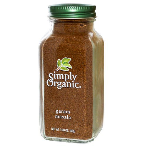 Simply Organic, Garam Masala, 3.00 oz (85 g) Review