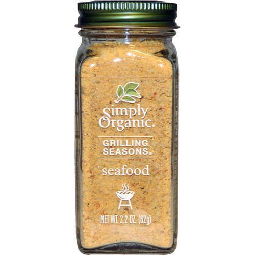 Simply Organic, Grilling Seasons, Seafood, Organic, 2.2 oz (62 g) Review