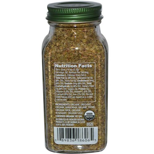 Simply Organic, Italian Seasoning, 0.95 oz (27 g) Review