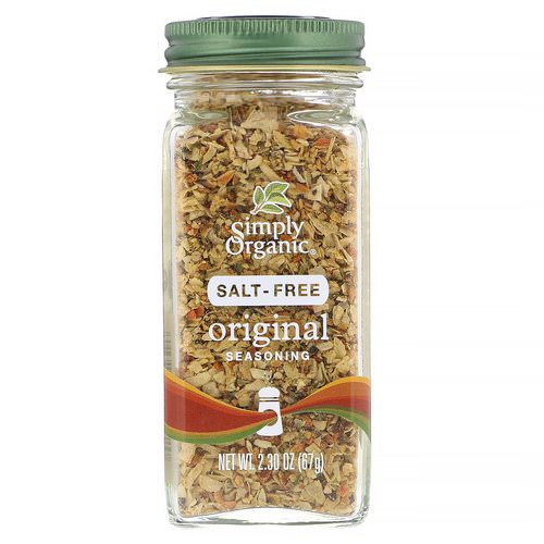 Simply Organic, Original Seasoning, Salt-Free, 2.30 oz (67 g) Review