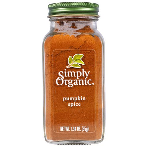 Simply Organic, Pumpkin Spice, 1.94 oz (55 g) Review