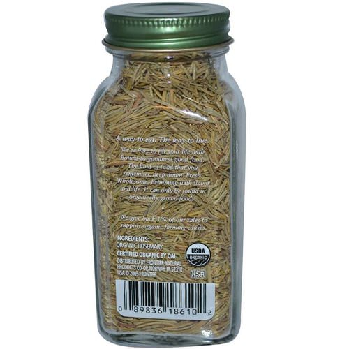 Simply Organic, Rosemary, 1.23 oz (35 g) Review