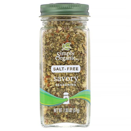 Simply Organic, Savory Seasoning, Salt-Free, 2.00 oz (57 g) Review