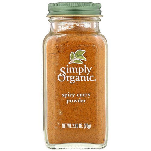 Simply Organic, Spicy Curry Powder, 2.80 oz (79 g) Review