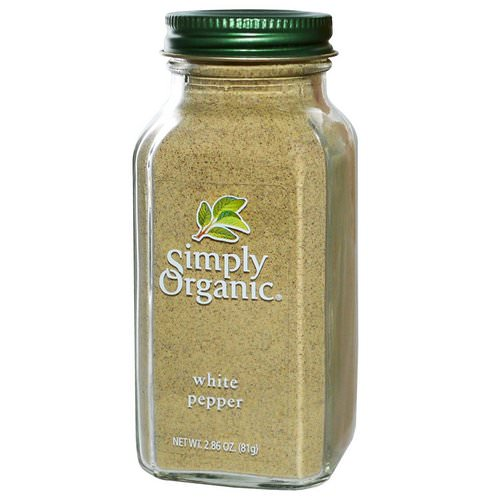 Simply Organic, White Pepper, 2.86 oz (81 g) Review