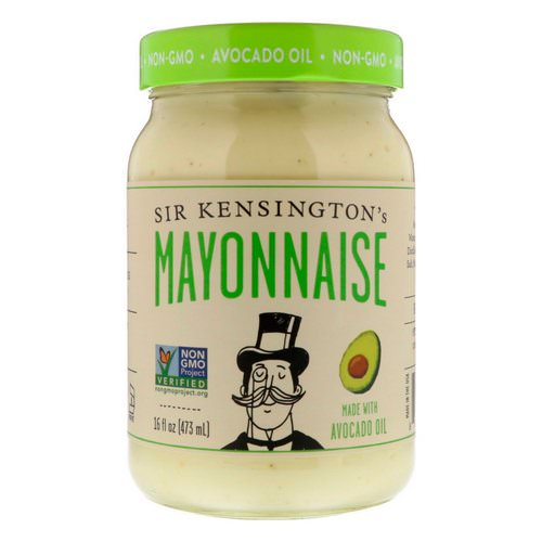 Sir Kensington's, Mayonnaise Made With Avocado Oil, 16 fl oz (473 ml) Review