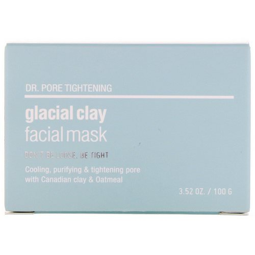 Skin&Lab, Dr. Pore Tightening, Glacial Clay Facial Mask, 3.52 oz (100 g) Review