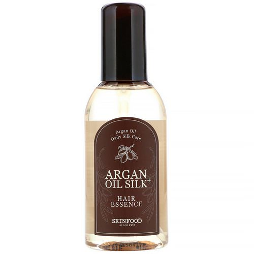 Skinfood, Argan Oil Silk Plus, Hair Essence, 3.38 fl oz (100 ml) Review